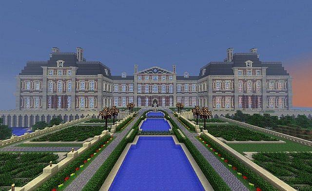 Widor palace minecraft project - Chateau de minecraft ...