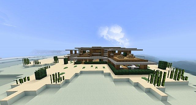 Nice modern house minecraft project for Nice modern houses