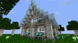High Elf house second medieval house (21 SUBS SPECIAL) Minecraft Map & Project