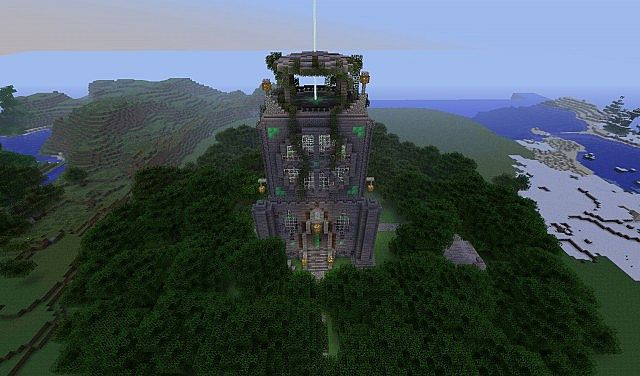Forest Temple Minecraft Project