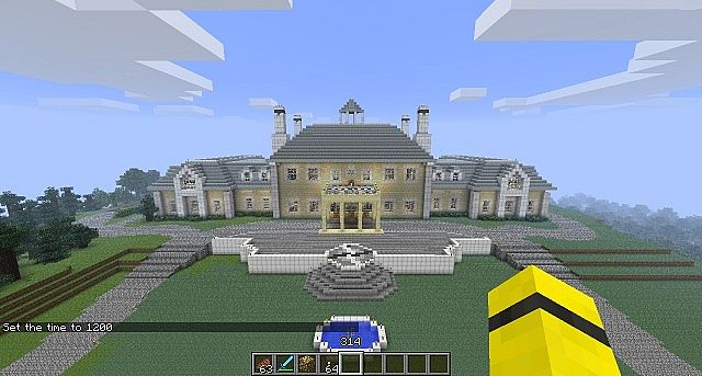 amazing minecraft mansions the hippest