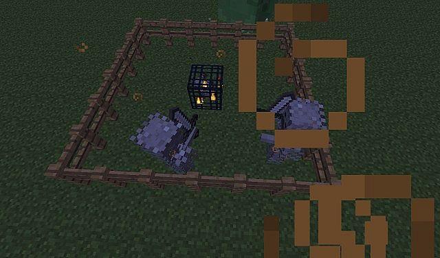 how to make a skeleton spawner in minecraft
