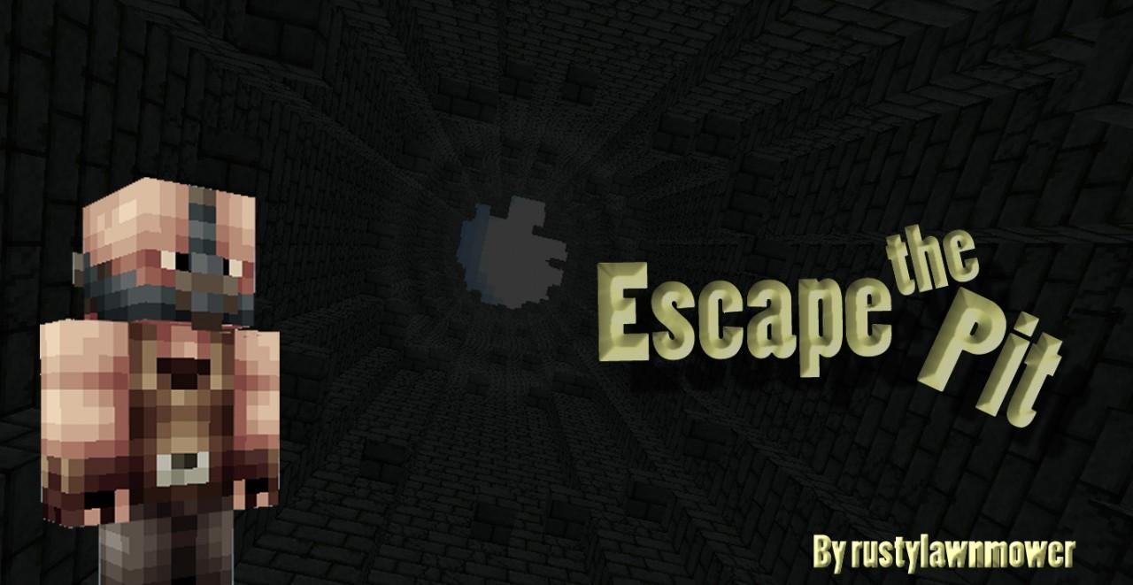 Escape the Pit ~ Batman Escape map Minecraft Project