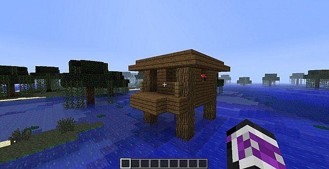Seed Für Ein Hexenhaus Im Sumpf Minecraft Project - Minecraft hexenhauser