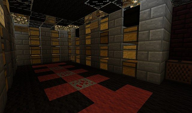 The Nice Efficient Storage Room Minecraft Project