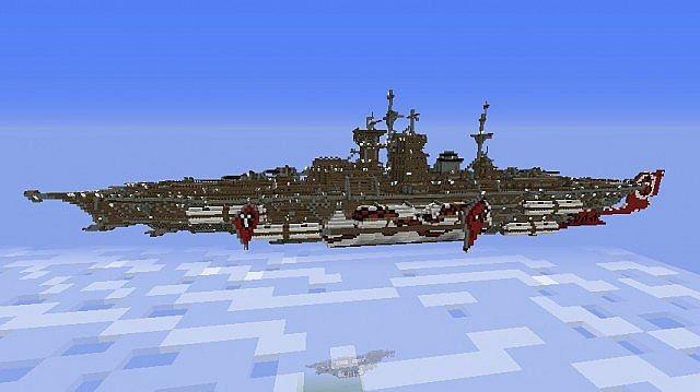 скачать карту для майнкрафт 1.5.2 на корабли два коробля #10