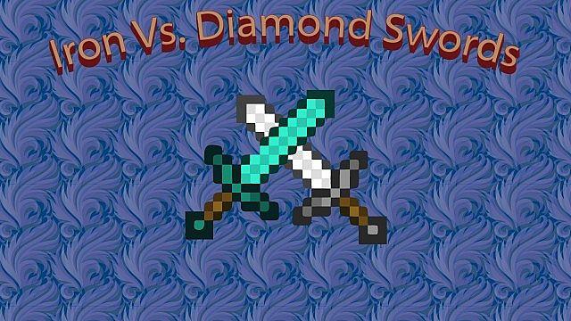 Enchanted Iron Vs. Diamond Swords Minecraft Blog