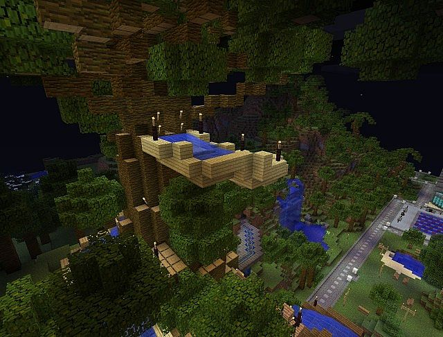 Minecraft Water Park Ideas