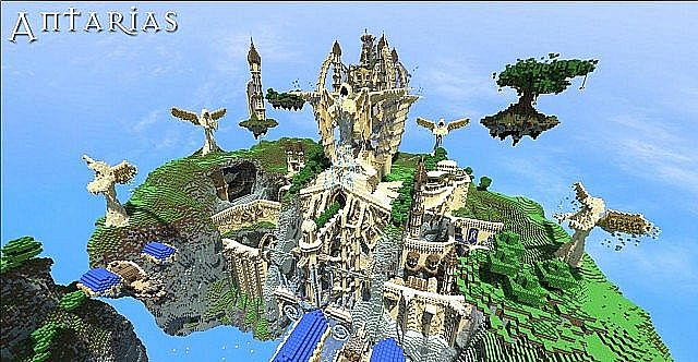 Antarias Adventure map [ approved by builder] Minecraft Project