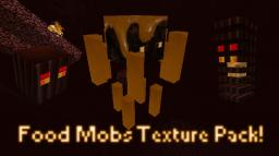 Food Mobs! Caramel Brownie Blaze! More soon! Minecraft Texture Pack
