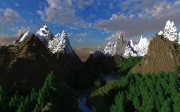 Cerria (fantasy medieval world) Minecraft Map & Project