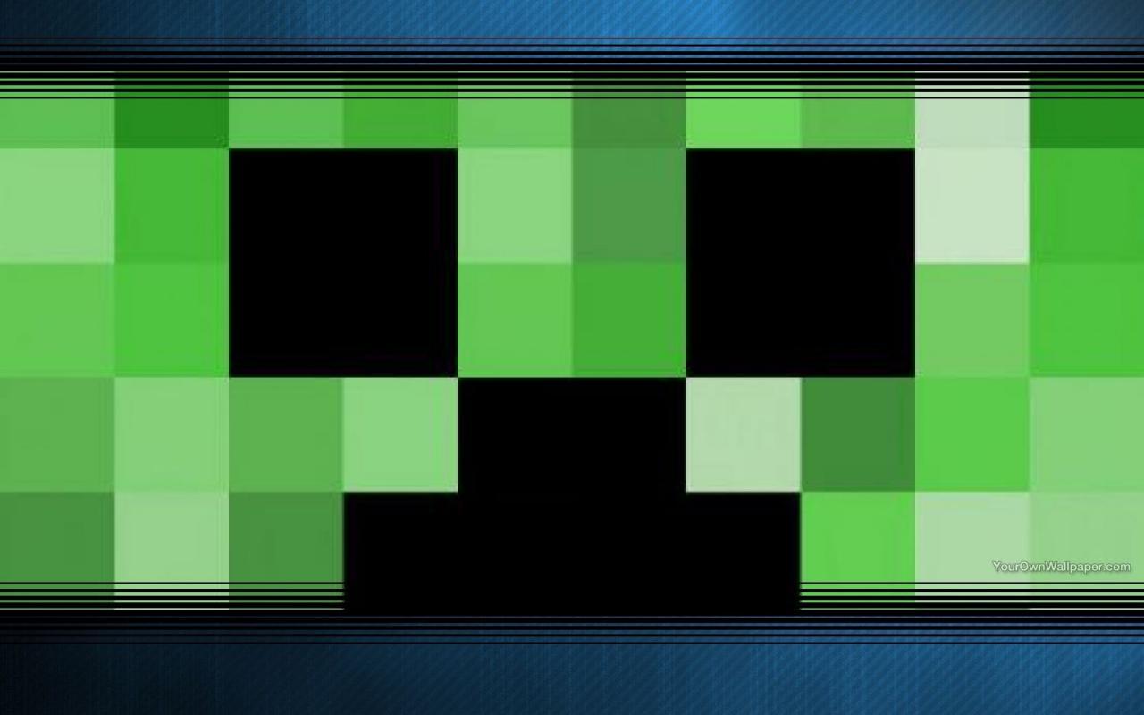 Simple Wallpaper Minecraft Square - Creeper-Wallpaper_4125682_lrg  Trends_359219.jpg