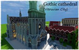 Gothic Cathedral (my first creation) Minecraft