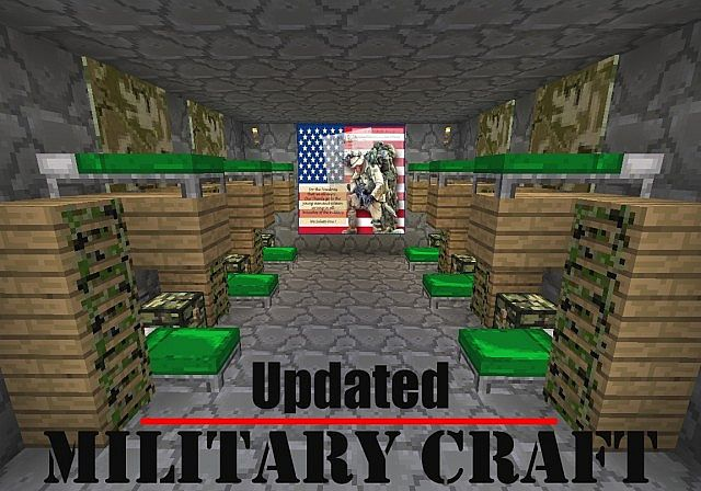 Military Craft 16x Minecraft Texture Pack