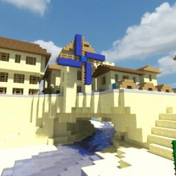 Fortified Desert Village Minecraft