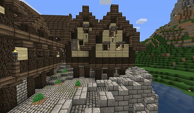Sharthur Poor District House 1 Minecraft Project