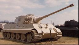 WW2 Tank: TIGER 2 Minecraft Project