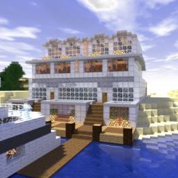 Sand Hotel Minecraft Map & Project