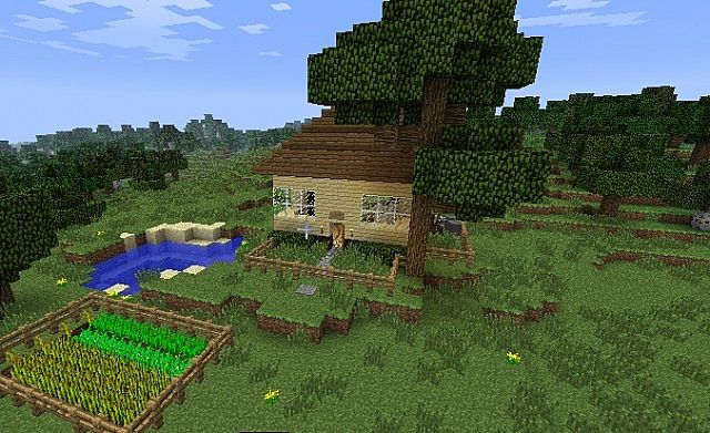 cute small minecraft houses
