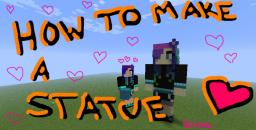 How to Make a Player Statue! Minecraft Blog