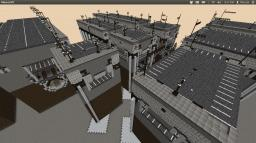 Modular Urban Utility structure Minecraft Map & Project