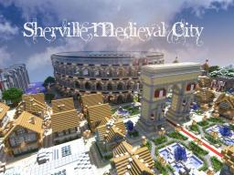 Sherville medieval city Minecraft Map & Project