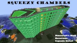 Squeezy Chambers Capsule Hotel Minecraft Map & Project