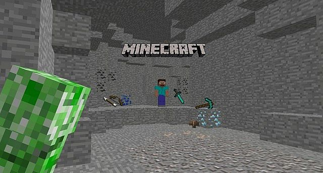 3d Wallpaper 1 Minecraft Blog