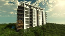 Stylish Contemporary Apartments Minecraft Map & Project