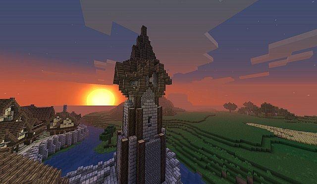 Tower Roof Minecraft