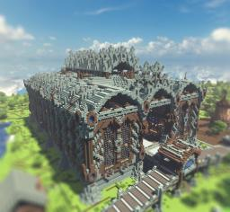 Server spawn structure Minecraft