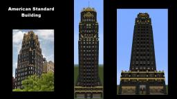 Skyscraper - American Standard Building (NYC) Minecraft Map & Project