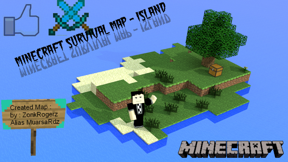 Map Survie Island Minecraft
