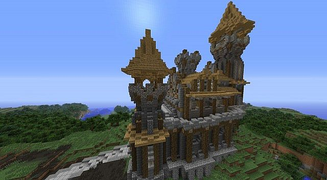 Small Castle By Madnes64 Minecraft Project