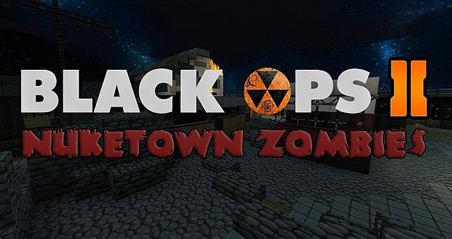 Black Ops II] Nuketown Zombies Minecraft Project