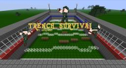 [PvP] Trench Survival [up to 36 players!] Minecraft Map & Project