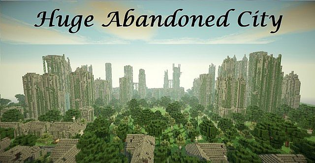 Minecraft Cinematic Huge Abandoned City Download Minecraft - The last of us minecraft map