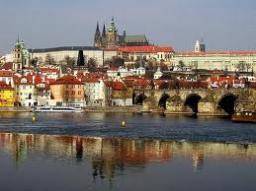 Prague city in MINECRAFT Minecraft