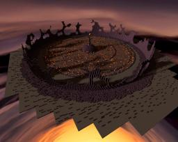 Evil crash site Minecraft Project