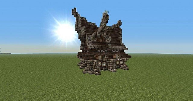 Gothic House Design Minecraft Project