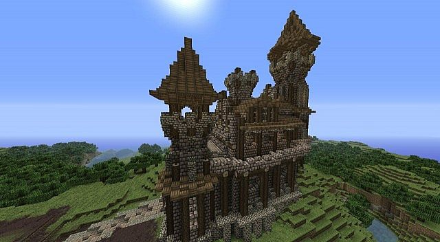 Small castle house plans minecraft home design and style for Small castle house
