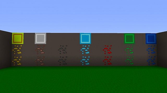 Ores and Blocks.