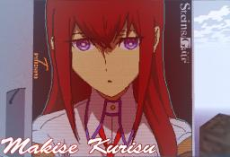 Steins;Gate Makise Kurisu Minecraft