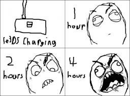 Rage comic: 3DS Charging... (Made by me) Minecraft Blog