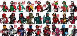 HumanMob Kamen Rider Mobs Verision 5 Minecraft Texture Pack
