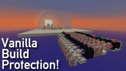 Vanilla Build Protection, using Command Blocks, Custom Potions, and infinite Dispensers! Minecraft