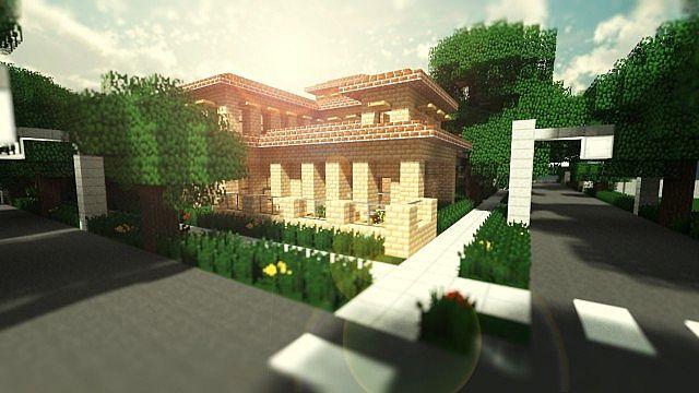 Greenfield Project Italian Villa Minecraft Project
