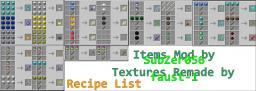 [1.4.5] SubZer056's Items Mod! [20   Items!] Minecraft