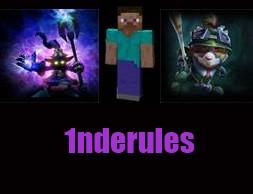 1nderules Minecraft Blog