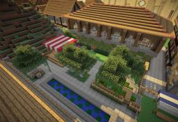 Cité Royale d'Isméria [Ismeria Royal City] Minecraft Project